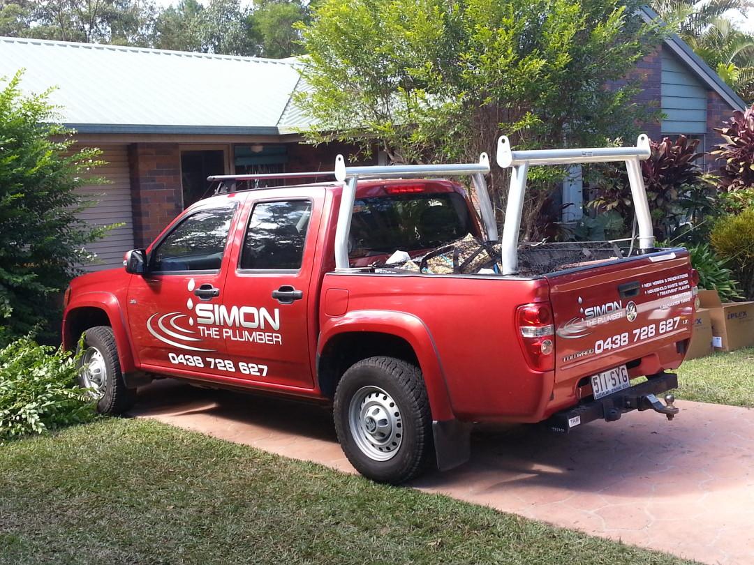 Simon the Plumber Work Truck