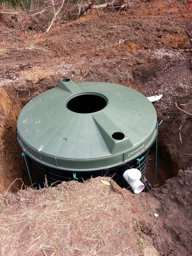 New Septic Tank Install by Simon the Plumber