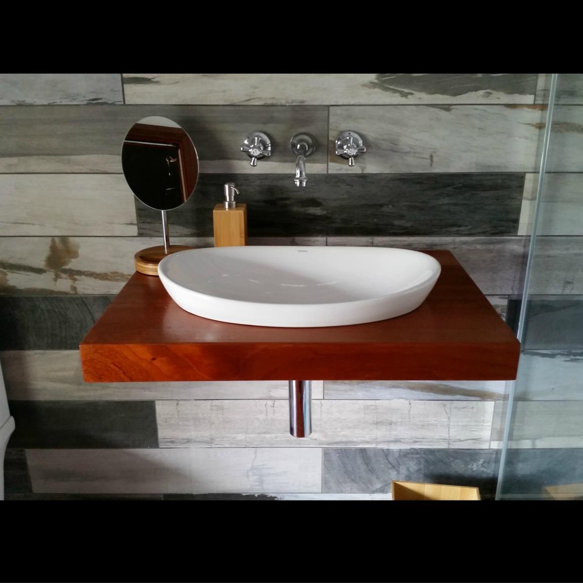 Custom Design Vanity installed by Simon the Plumber