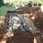 Advance Enviro Septic System install by Simon the Plumber